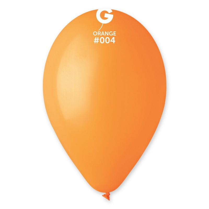 """ᐉ 10"""" пастель 04 помаранчевий (G90) купить оптом в Украине • от 100 шт. • по цене 1.03 грн."""